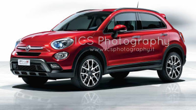 Fiat 500X Revealed In Leaked Images