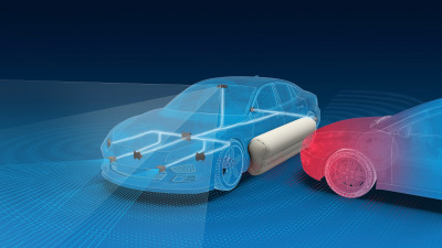 Exterior airbags to provide bumper protection