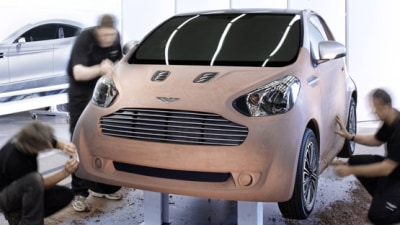 Aston Martin Cygnet Concept: Toyota Underneath, Aston Everywhere Else