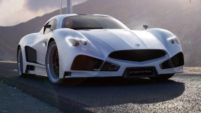 Italian F&M Evantra V8 Supercar Revealed