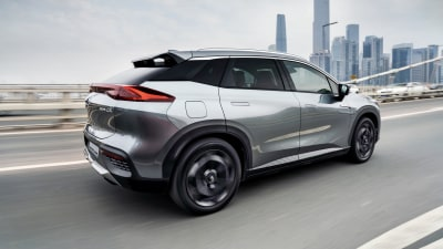 China's electric SUV offering 1000km of range