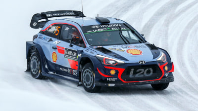 Race wrap: Hyundai on top in Sweden