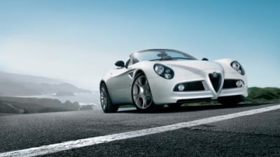 Alfa Romeo 8C Competizione Spider more official images
