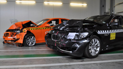 2010 BMW 5 Series Awarded Euro NCAP 5-Star Crash Safety Rating