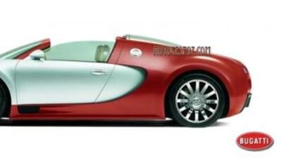 Bugatti Veyron Targa rumours persist