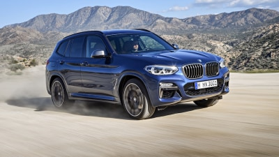 2018 BMW X3 Range Revealed Overseas Topped By High-Performance X3 M40i