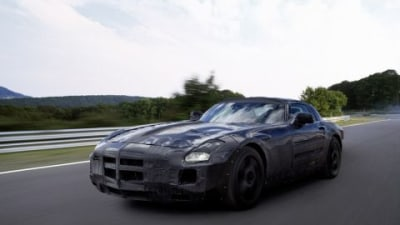 Mercedes-Benz SLS AMG Gullwing Official Details Released