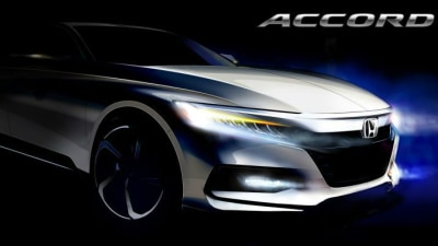 2018 Honda Accord Teased Ahead Of July Unveiling