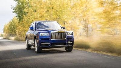 Rolls-Royce Cullinan 2019 overseas preview drive
