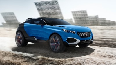 Peugeot Set To Join The SUV Coupe Craze