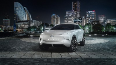 Infiniti QX Inspiration hints at electric SUV