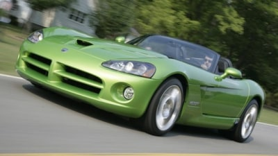 Dodge Viper To Stay On As Part Of Chrysler Group