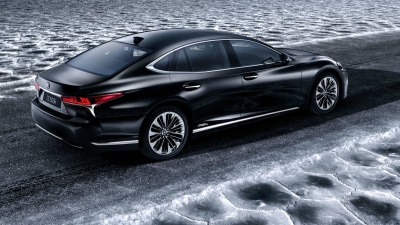 All-New Lexus LS 500h Set for Geneva Unveil – With Multi-Stage Hybrid System