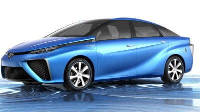 Toyota Details Hydrogen Powered FCV Concept Ahead Of Tokyo