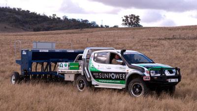 Mitsubishi Triton Electric Vehicle Created By NSW Farmer