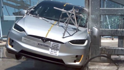 Tesla Model X Declared 'Safest SUV Yet' By NHTSA