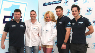 Downforce1 GT2 Racing Team Launches, Led By... Pamela Anderson?