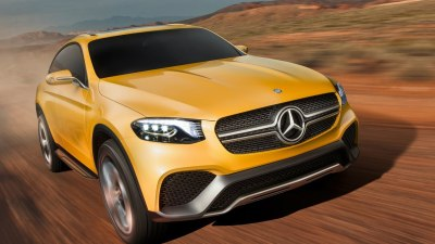 Mercedes-Benz GLC Coupe Teased Ahead Of New York Debut - Video