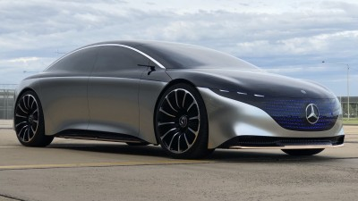 Mercedes-AMG EQS hero electric limo in the works - report
