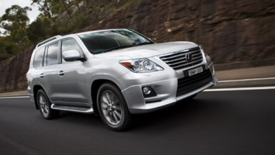 2010 Lexus LX 570 Updates Announced
