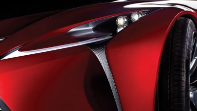 Lexus Bringing Future-previewing Concept To Detroit Auto Show