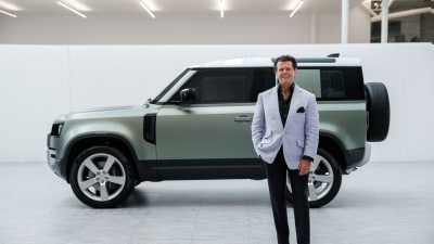 Land Rover designer about to sign off?
