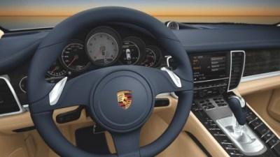 2009 Porsche Panamera Interior Images Released