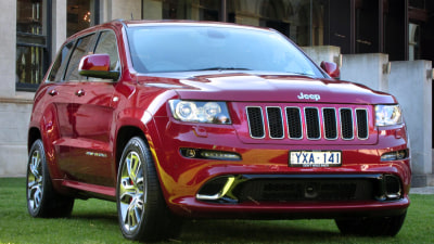 2013 Jeep Grand Cherokee SRT8 First Drive Review