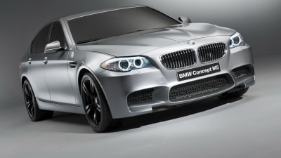 2012 BMW M5 Teased In New Track Video