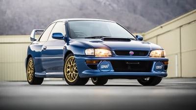 1998 Subaru Impreza 22B STi sells for more than $400,000