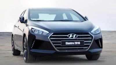 New Hyundai Elantra Revealed In Leaked Marketing Shot