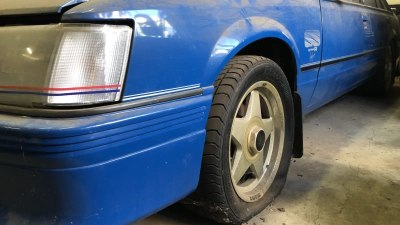 "Barn find! VK ""Blue Meanie"" HDT Commodore found in a shed, could go for $200,000-plus"