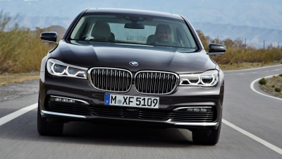 2016 BMW 7 Series: Technology Preview