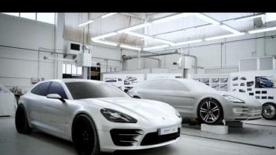 Porsche Details Panamera Sport Turismo Concept Build: Video