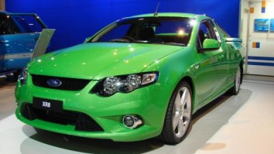 Ford FG Falcon range at the 2008 Melbourne Motor Show