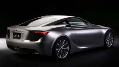 Lexus LF-A One Step Closer To Production