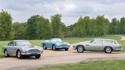 A rare collection of Aston Martin DB5 Vantages is up for grabs