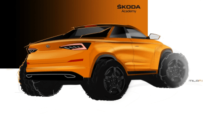 Skoda to build Kodiaq ute concept