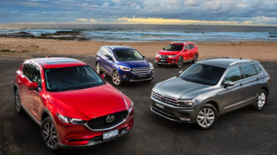 Mazda CX-5 v Volkswagen Tiguan v Ford Escape v Nissan X-Trail comparison review