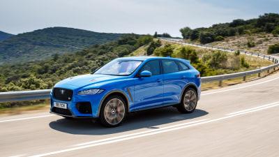 Jaguar F-Pace SVR first drive international review