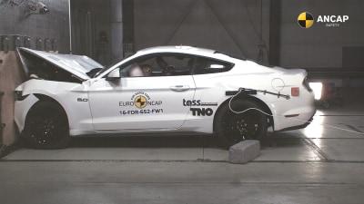 Mustang scores marginally better ANCAP crash score