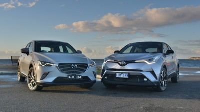 Big End of Small Town - Mazda CX-3 v Toyota CH-R Comparison Test