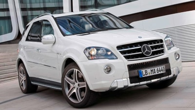 2011 Mercedes-Benz ML 63 AMG Brings Basic Updates