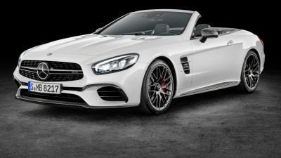 Mercedes-Benz SL For 2017 Leaked Ahead Of LA Auto Show