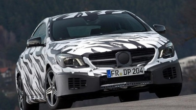 Mercedes-Benz CLA And CLA 45 AMG Teased Further