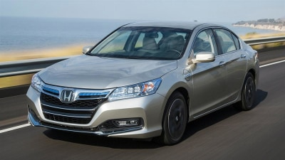 Honda Accord Plug-In Hybrid Revealed