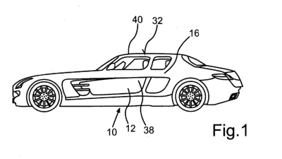 Patent Documents Surface For Four-Door Mercedes-Benz SLS AMG