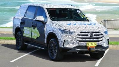 2018 LDV D90 Seven-Seat 4WD Spied Testing In Australia
