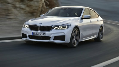 2018 BMW 6 Series GT Revealed Ahead Of Frankfurt