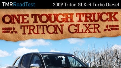 2009 Mitsubishi Triton GLX-R Turbo Diesel Super-Select 4WD Auto Road Test Review
